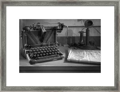 Memories Framed Print by Debra and Dave Vanderlaan