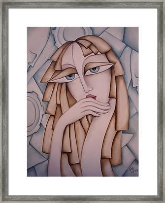Memory Framed Print by Simona  Mereu