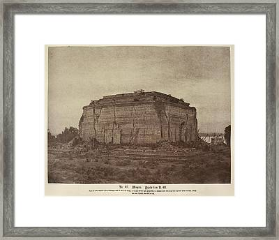 Mengoon Pagoda Framed Print by British Library