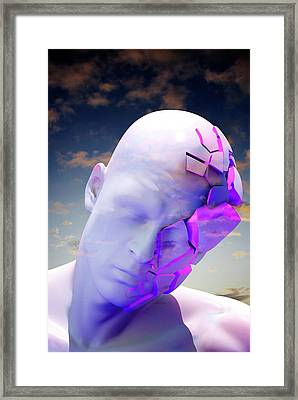 Mental Health Degeneration Framed Print by Tim Vernon