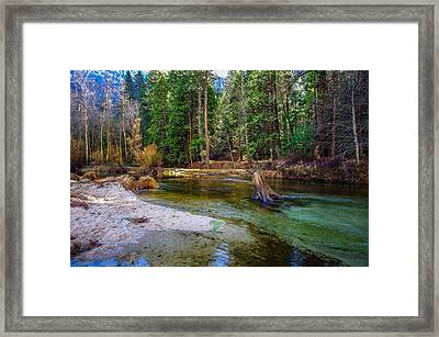 Merced River Yosemite National Park Framed Print by Scott McGuire