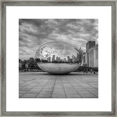Mercury Drop Framed Print by Noah Katz