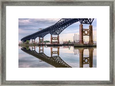 Mergers Framed Print by JC Findley