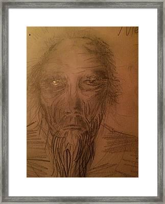 Merlin Framed Print by Emma Childs