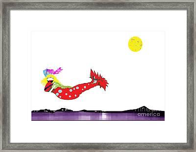 Mermaid 2 Framed Print