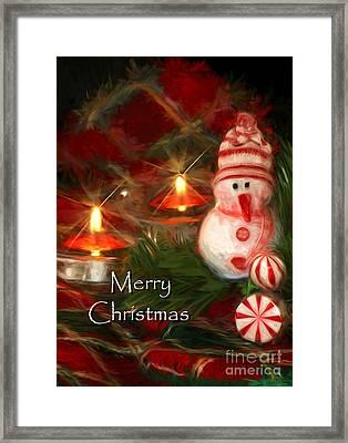 Merry Christmas Framed Print by Darren Fisher