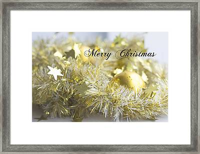 Framed Print featuring the photograph Merry Christmas by Jocelyn Friis