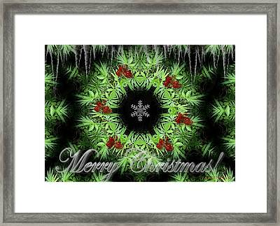Merry Christmas Framed Print by Robert Orinski