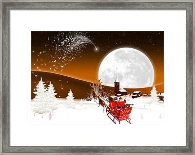 Merry Christmas Framed Print by Doc Braham