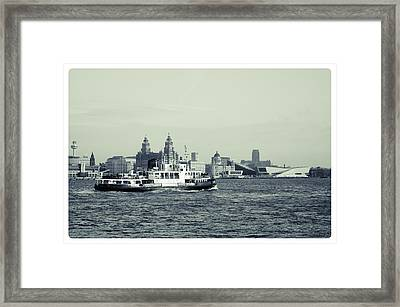 Mersey Ferry Framed Print
