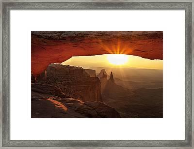 Mesa Morning Framed Print by Andrew Soundarajan