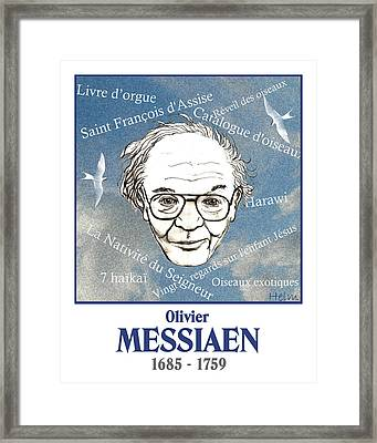 Messiaen Framed Print by Paul Helm