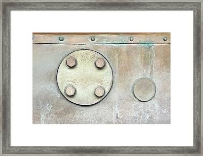 Metal Container Framed Print