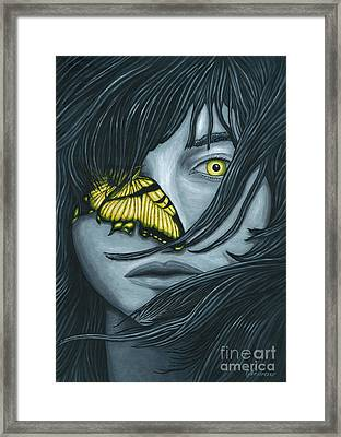 Metamorphia Framed Print