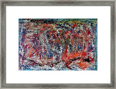 Framed Print featuring the painting Nature Walk In The Yakima Delta by Lisa Kaiser