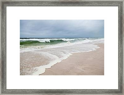 Meteotsunami Framed Print by Jim Edds