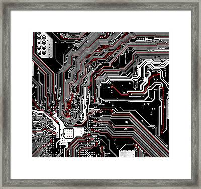 Metro Framed Print by Alex Hiemstra