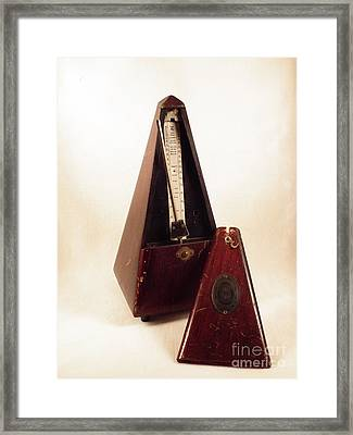 Metronome  Framed Print by Stefano Piccini