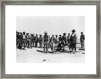 Mexican Revolution, 1912 Framed Print by Granger