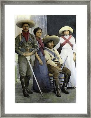Mexican Revolutionaries Framed Print by Granger