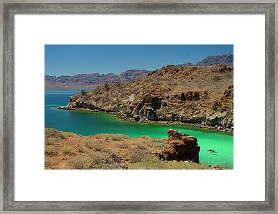 Mexico, Baja, Sea Of Cortez Framed Print by Gary Luhm