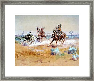 Mexico Framed Print by Charles Russell
