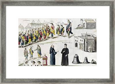 Mexico Missionaries Framed Print