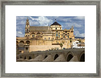 Mezquita Cathedral In Cordoba Framed Print