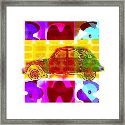 Mgl - Automotive Fun Jaguar 01 Framed Print