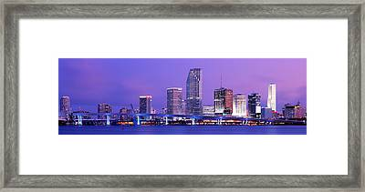 Miami Fl Framed Print by Panoramic Images