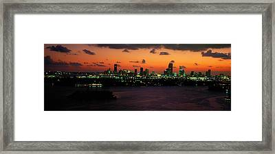 Miami, Florida, Usa Framed Print by Panoramic Images