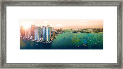 1 Miami Framed Print by Michael Guirguis