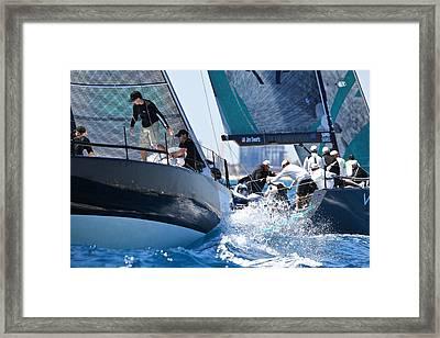 Miami Midwinter Regatta Framed Print