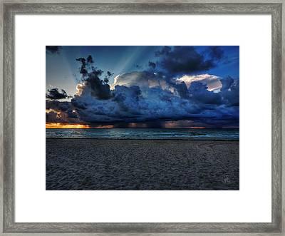 Miami - South Beach Morning 002 Framed Print by Lance Vaughn