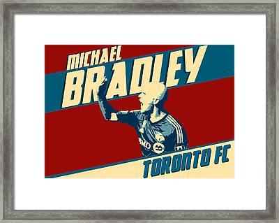 Michael Bradley Framed Print