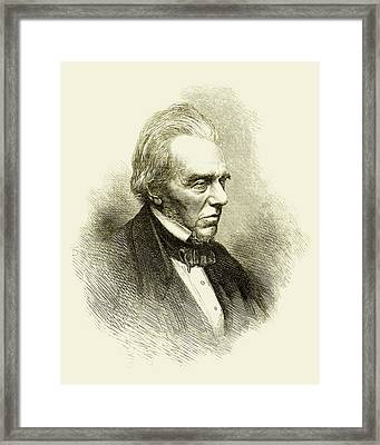 Michael Faraday Framed Print by Maria Platt-evans