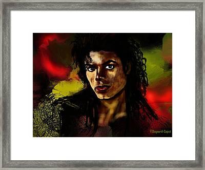Michael Framed Print by Francoise Dugourd-Caput