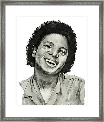 Michael Jackson 7 Framed Print by Bekim Art
