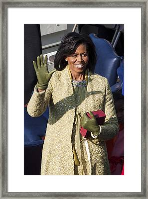 Michelle Obama Framed Print by JP Tripp