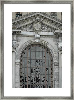 Michigan Central Station Framed Print