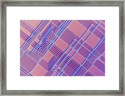 Microchip Framed Print
