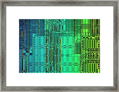 Microprocessor Instruction Decode Unit Framed Print