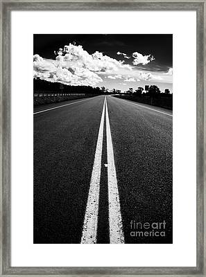 Middle Road Framed Print by Jorgo Photography - Wall Art Gallery