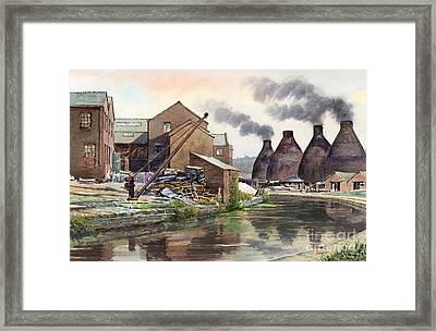 Middleport Pottery Framed Print by Anthony Forster