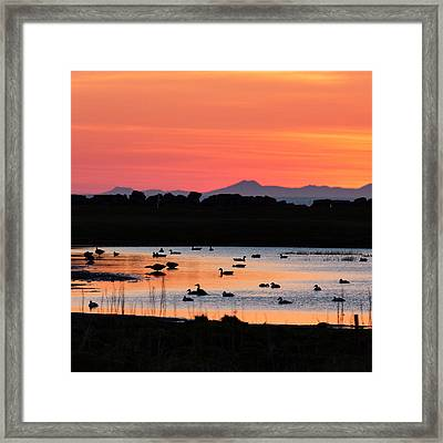 Midnight Sun, Reykjavik, Iceland Framed Print by Panoramic Images