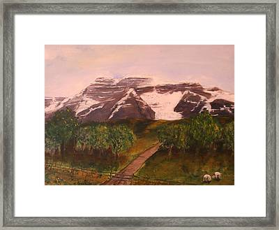 Midway Framed Print