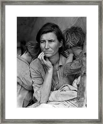 Migrant Mother Framed Print
