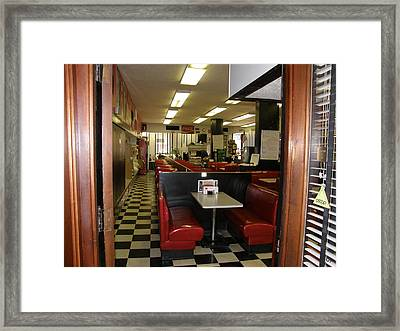 Framed Print featuring the photograph Milam Building Restaurant by Antonia Citrino