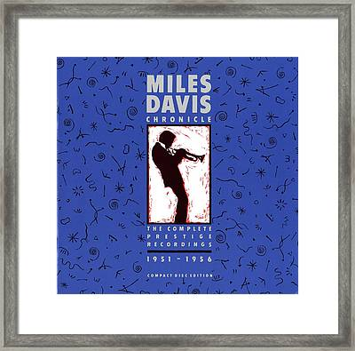 Miles Davis All Stars -  Chronicle Framed Print by Concord Music Group