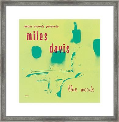 Miles Davis -  Blue Moods Framed Print